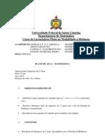 PPCC Introdução ao Cálculo 1