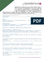 PARACAETANA - Questionário de Público