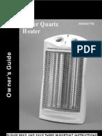 Holmes Heater Manual