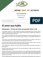 Victor Manuel Fernández. Quince motivaciones para ser misioneros. Cap. 1