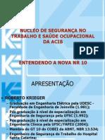 NR-10, Prontuário, etc