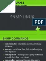 Pertemuan 3b - Snmp Linux