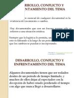 Desarrollo Conflicto y Enfrentamiento Del Tema PDF