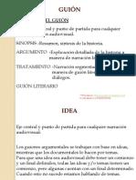 GUIÓN de la  IDEA al ARGUMENTO pdf