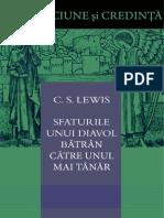 CS Lewis- Sfaturile Unui Diavol Batran Catre Unul Mai Tanar