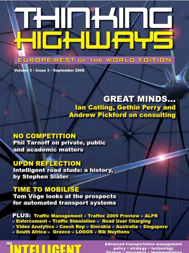 Thinking Highways Europe Row Sep 08 Traffic Congestion Soundlevel Meter Circuit Diagram Tradeoficcom