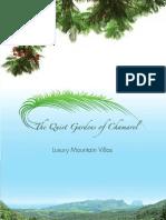 Quiet Gardens Brochure