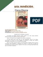 Blayne, Diana - Oscura rendición