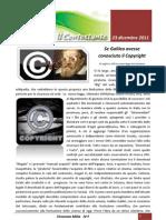 Se Galileo Avesse Conosciuto Il Copyright