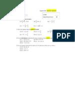 Algebra Drills - Quadratic Equation