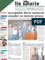 Primera Plana Listin Diario 17-12-2001