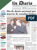 Primera Plana Listin Diario 15-12-2001