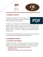 CK Mining Profile