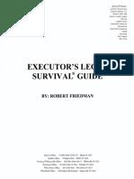 Executor Legal Survival Guide