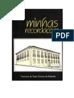 FRANCISCO DE PAULA FERREIRA DE REZENDE.Minhas recordações