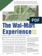 Wall Mart Experience