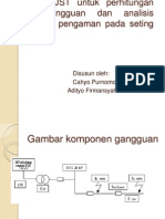 Aplikasi JST Untuk Perhitungan Arus Gangguan Dan Analisis