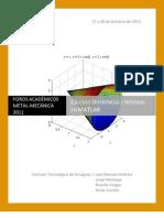 Cálculo diferencial e integral con MATLAB (tutorial)