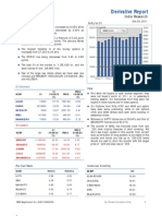 Derivatives Report 29th December 2011