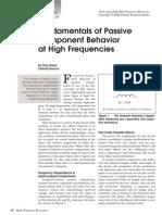 High Frequency Behavior