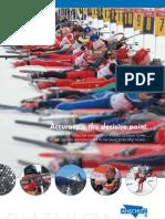 Biathlon Imageprospekt Englisch