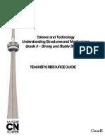 CN Tower - Teachers Resource Guide - Grade 3