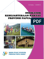 Indikator Kesejahteraan Rakyat Papua Barat 2010