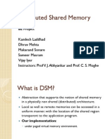 Distributed Shared Memory Distributed Memory[1]