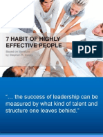7 Habbits of Effective People