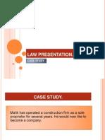 Law Presentation