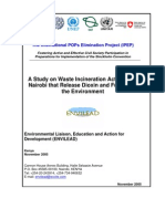 A Study on Waste Incineration Activities in in Kenya