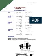 Cálculo de ejes según norma DIN 44713