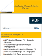 Solution Manager7.1 Gyansys