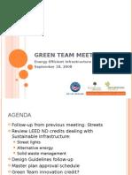 Green Team Meeting 3
