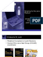 Java Scripting