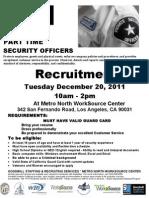 Goodwill Security Recruitment