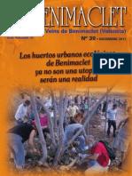 Revista BENIMACLET 39