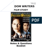 Freedom Writers - Film Terms & Questions Booklet (Good Copy)-1