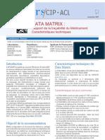 CIP-ACL Les Cahiers 01 Data Matrix Traçabilité