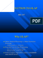OLAP Systems Introduction