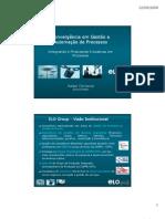 Apresentacao IQPC - Convergência em Gestão e Automação de Processos