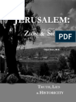 Jerusalem Sion & Zion Final Revision June 2010