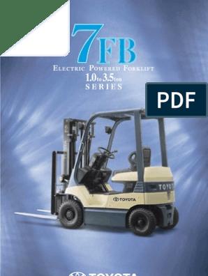 10-toyota_7FB   Steering   Forklift