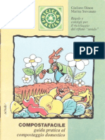 Dinon Giuliano, Stevano Marina - Compost a Facile (Guida Pratica Al Compostaggio Domestico - 1996