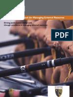 EFQM EIPM Framework for Exc Ext Resources