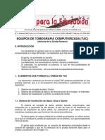 EQUIPOS D TOMOGRAFÍA COMPUTERIZADA