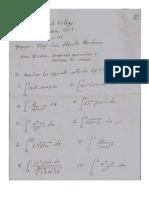 Integración definida y Cálculo de area