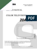 20AS26 Toshiba Service Manual