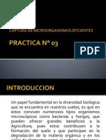 PRACTICA N° 03 captura de microorganismos