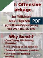 Jenks High School Bunch